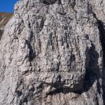 Il torrione Magnaghi settentrionale, una corda sulla via Lecco.