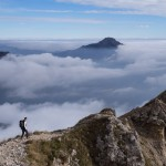 Sul sentiero della cresta Cermenati-