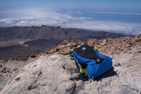 In cima al Teide.