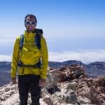 In cima al Pico de Teide.
