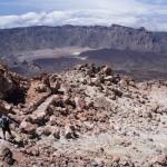 Il cratere del Pico de Teide.