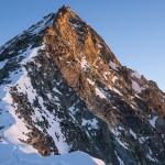 La Wandfluegrat, via normale e cresta sud della Dent Blanche.
