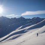 Verso il Wirt, Sankt Christoph Am Arlberg.