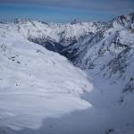 La Malfontal dal Kreuzjoch. Sankt Anton Am Arlberg.
