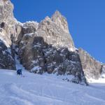Val Culea, gruppo del Sella.