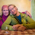 Quinto giorno. Mary e Tuomas al rifugio Casati.