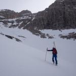 Sci alpinismo sul Lastron degli Scarperi.