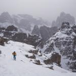 A pochi passi dalla cima del Lastron degli Scarperi.