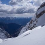 Crepacci sul Ghiacciaio Superiore dell'Antelao.