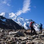 Verso il RIfugio Tete-Rousse, Monte Bianco.
