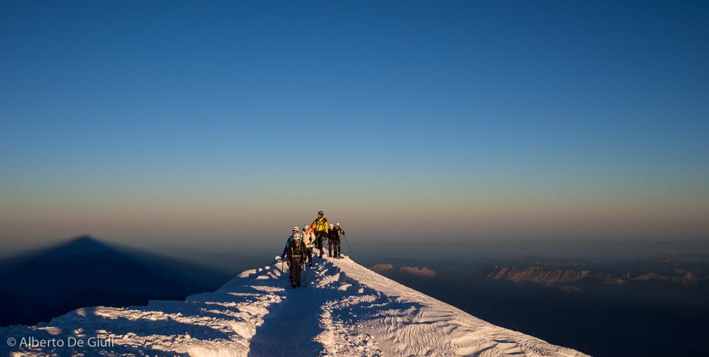 Progetto Monte Bianco,4808 metri  Salire sul tetto delle