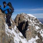 Arrampicando sul Piz Bernina. Biancograt.
