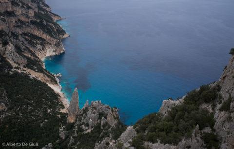 Cala Goloritzé da Punta Salinas. Selvaggio Blu, secondo giorno.