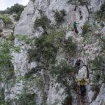 """Scendendo la """"scala"""" di Biriala. Selvaggio Blu quarto giorno."""